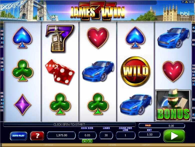 James Win Video Slot