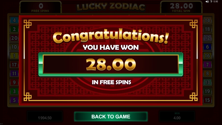 Lucky Zodiac by Microgaming