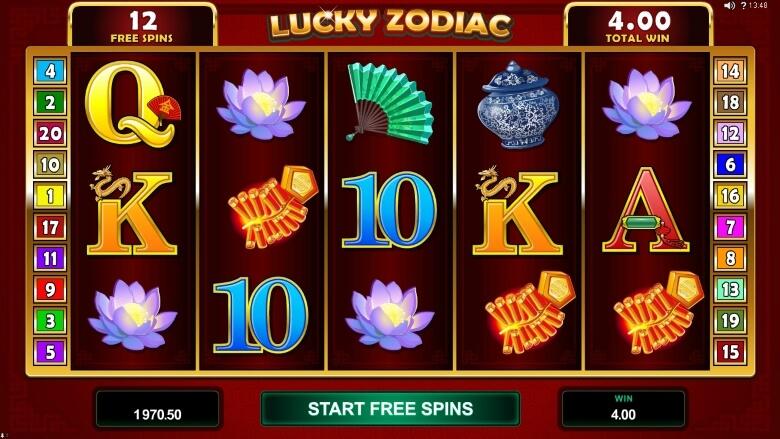 Lucky Zodiac online slot
