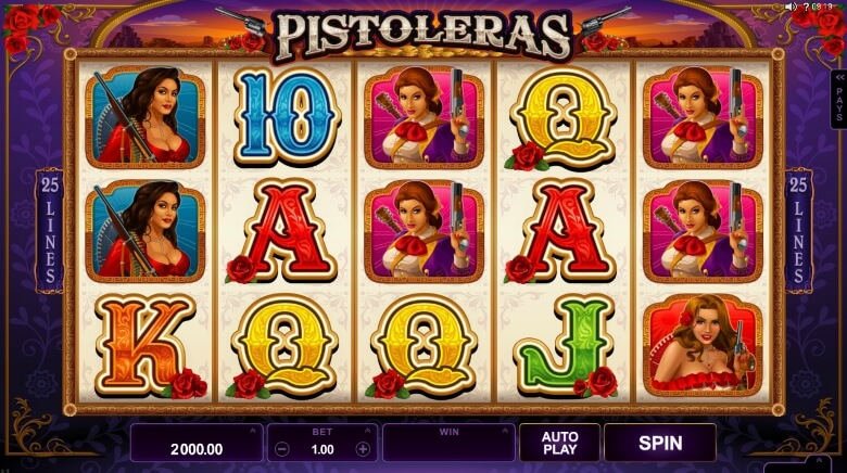 Pistoleras Video Slot