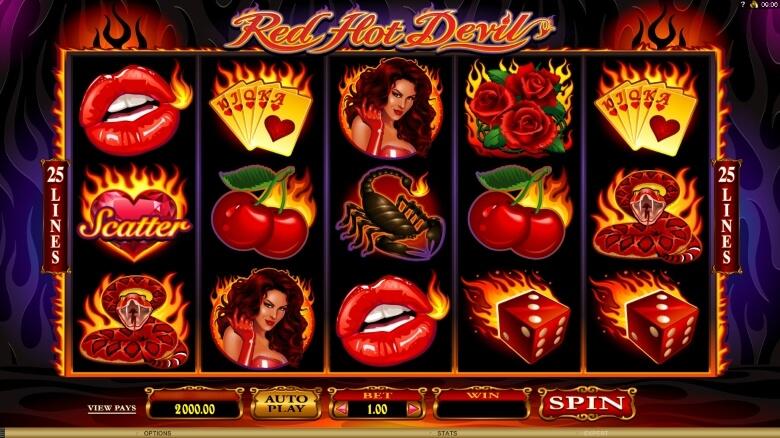 Red Hot Devil video slot