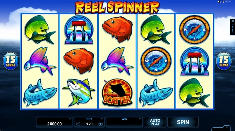Reel Spinner video slot