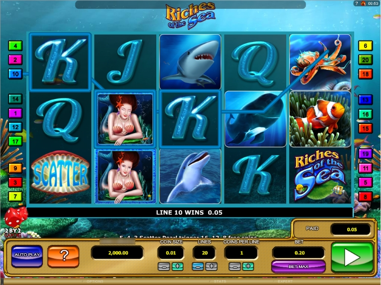 Riches of the Sea Video Slot