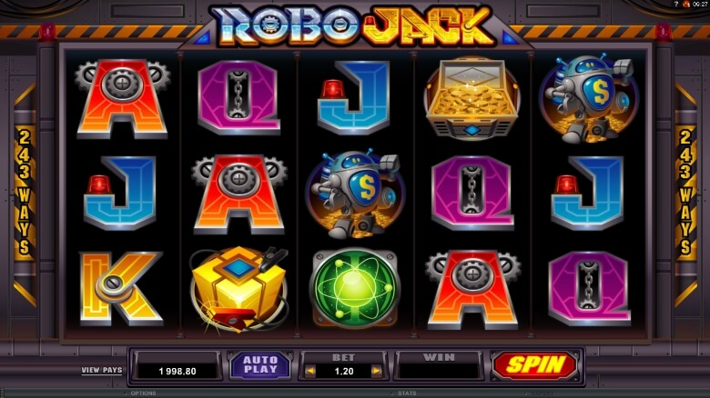RoboJack Video slot