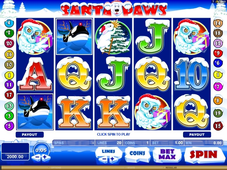 Santa Paws Video Slot