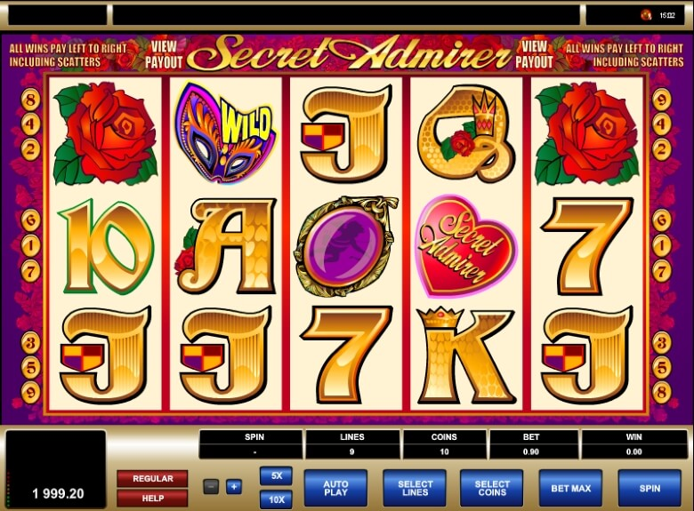 Secret Admirer Video Slot