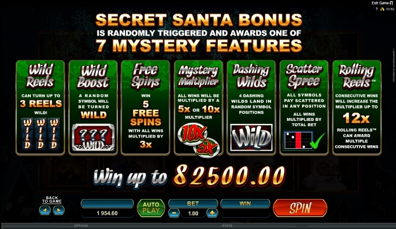 Secret Santa Online Slot