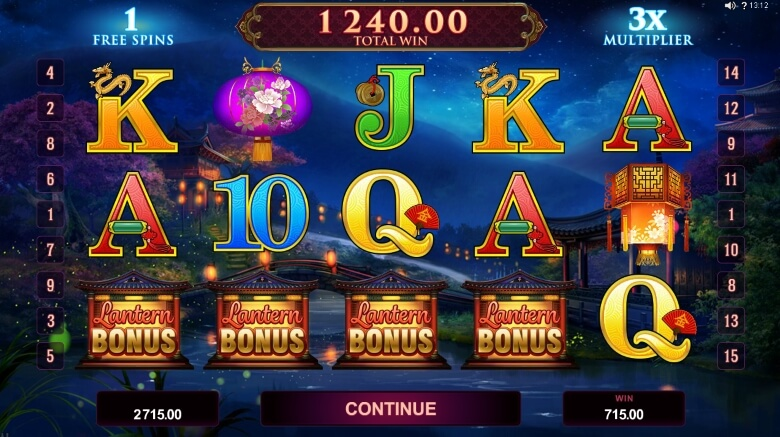 Serenity Online Slot Game