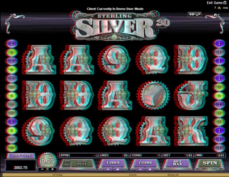 Sterling Silver Online Slot