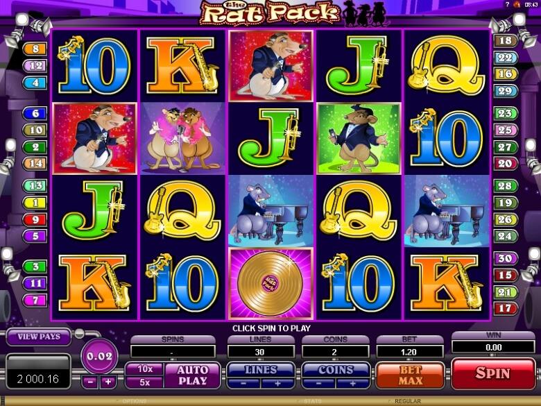 Spiele The Rat Pack - Video Slots Online