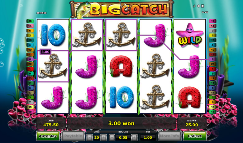 Big Catch - Video Slot