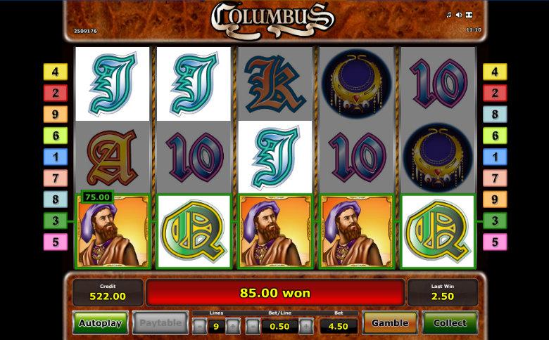 Columbus - Video Slot