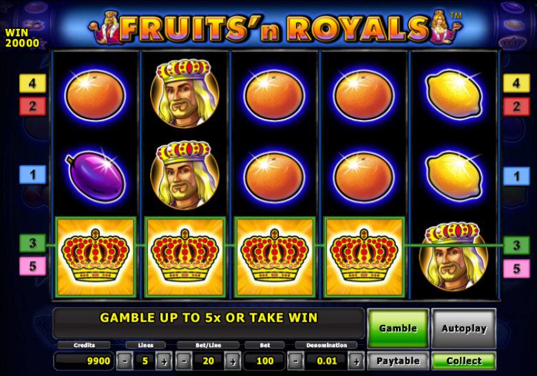 Fruits 'n Royals - Novomatic