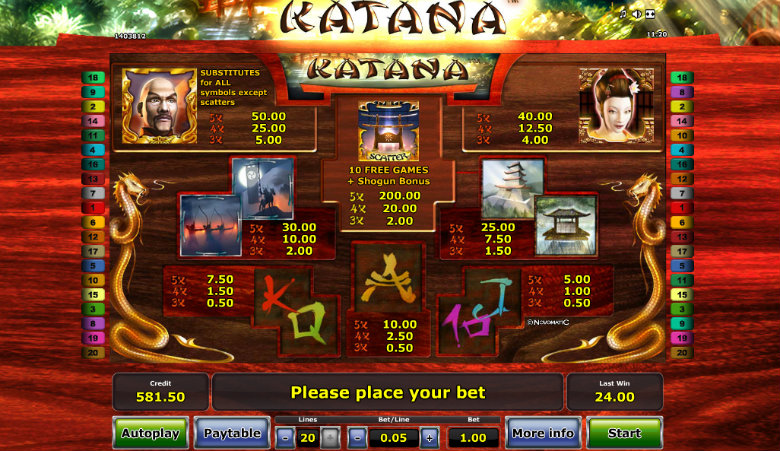 Katana Slot Machine – Play the Online Slots Game for Free