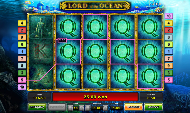 Lord of the Ocean - Video Slot