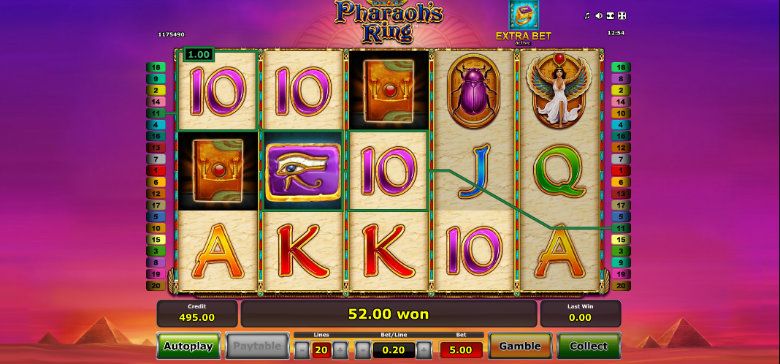 Pharaoh's Ring - Video Slot
