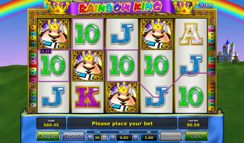 Rainbow King - Video Slot