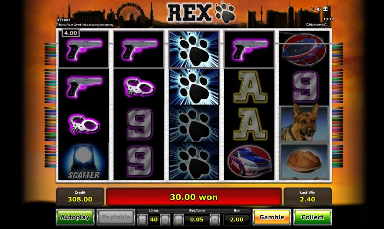 Rex - Video Slot