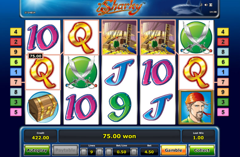 Sharky - Video Slot