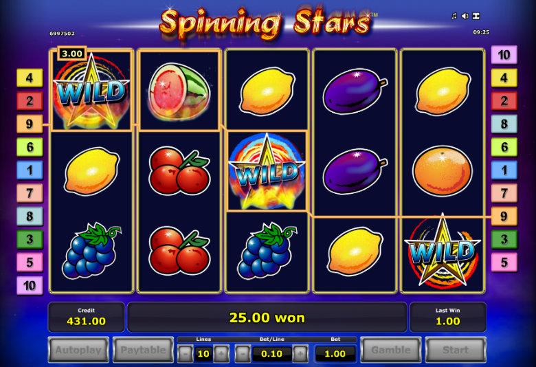 Spinning Stars - Video Slot