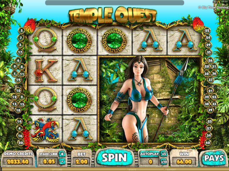 Temple Quest - Video Slot