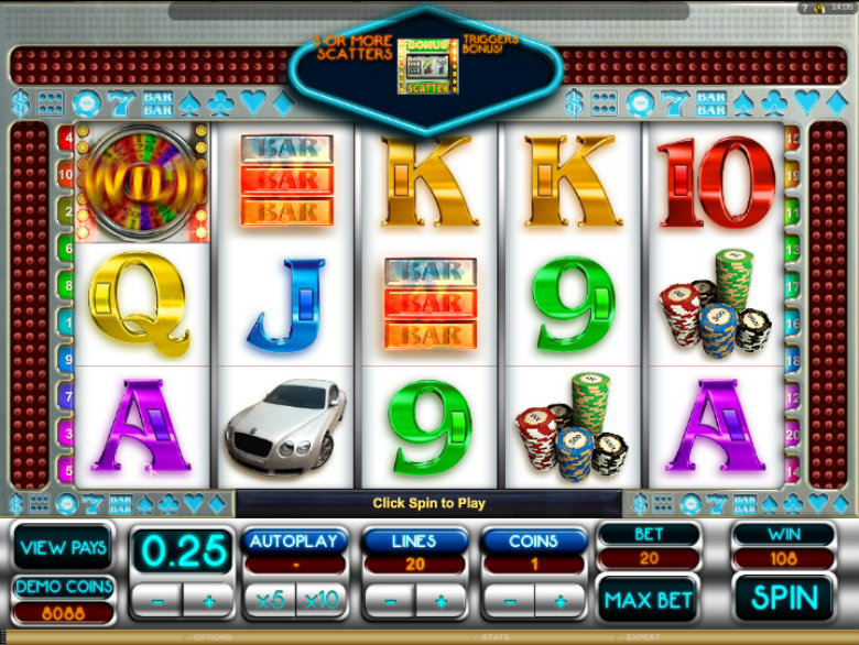 Vegas Dreams - Video Slot