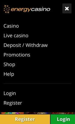 EnergyCasino | Play live casino games on your mobile device