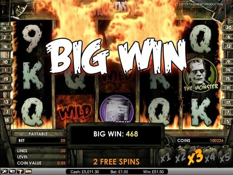 Frankenstein Online Slot