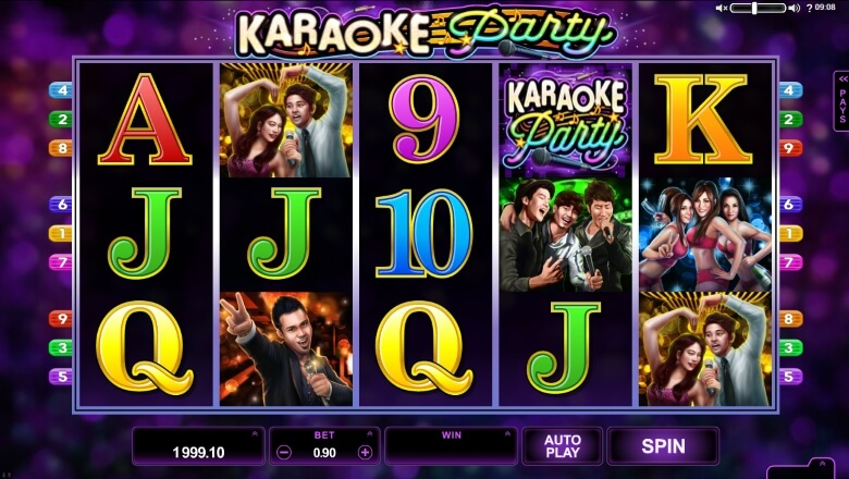 Karaoke Party Video Slot