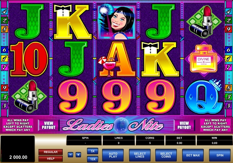 Ladies Nite Online Slot