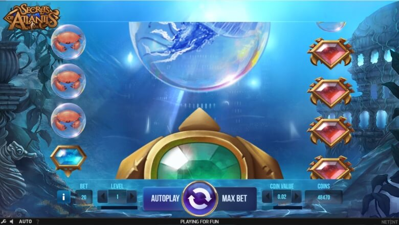 Secrets of Atlantis Online Slot