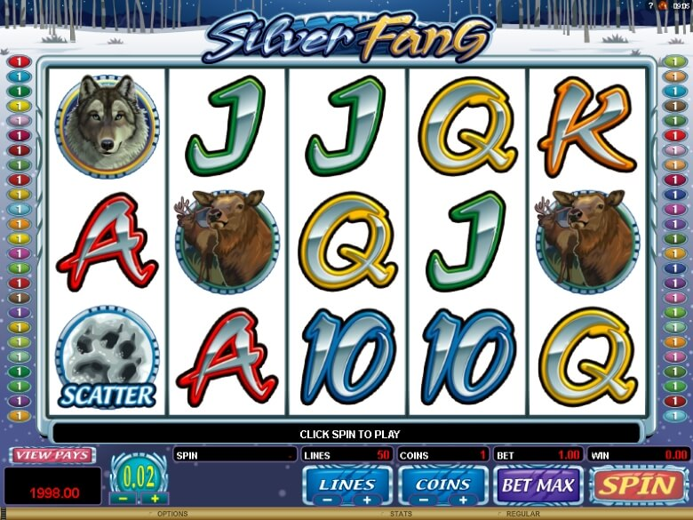 Silver Fang Video Slot
