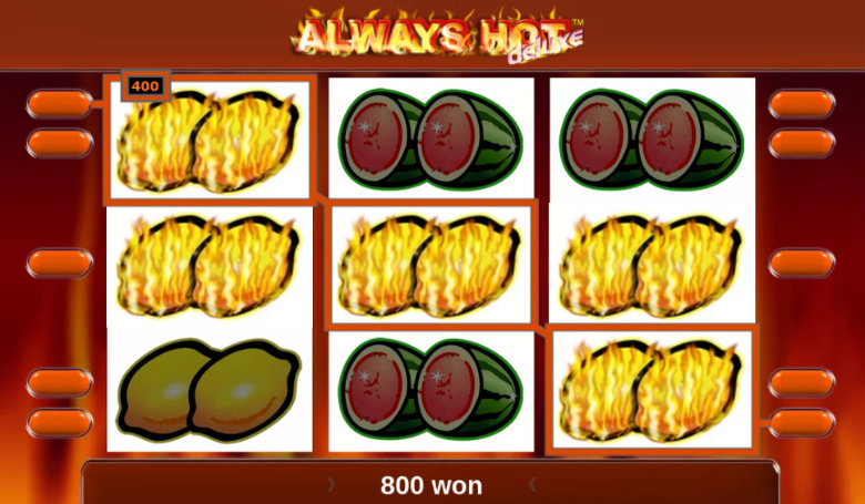 Always Hot Deluxe - Video Slot