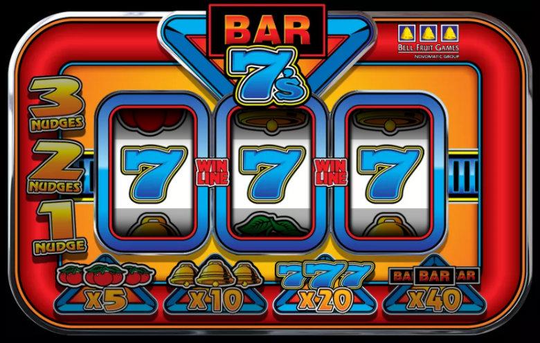 Bar 7's - Online Slot