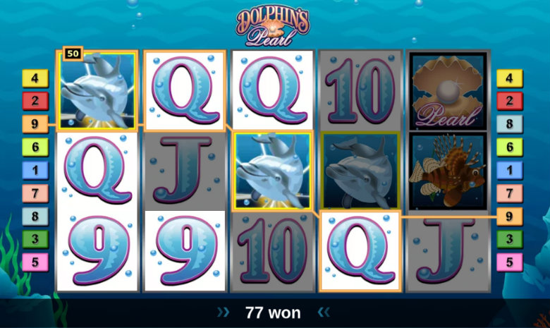 Dolphin's Pearl - Video Slot