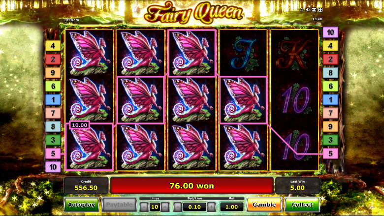 Fairy Queen - Big Win