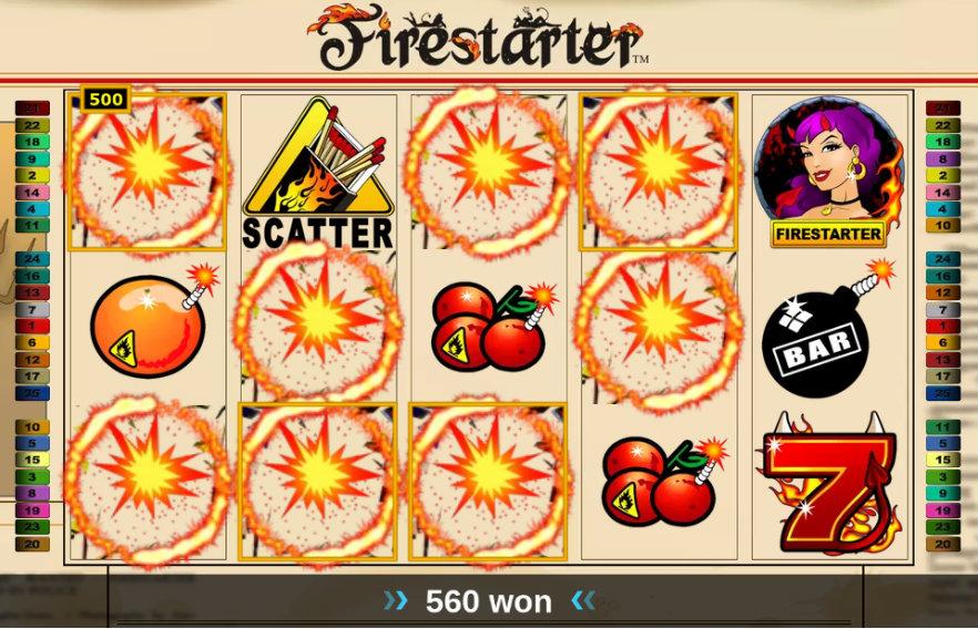 Firestarter - Video Slot