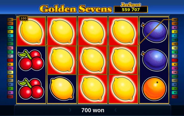 Golden Sevens - Jackpot Slot
