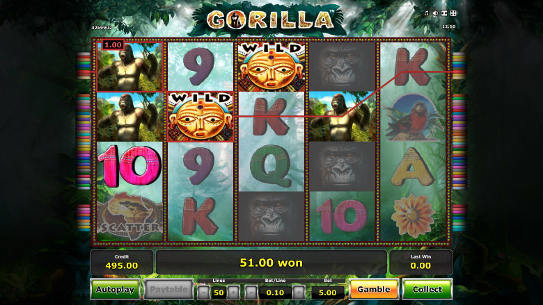 Gorilla - Video Slot