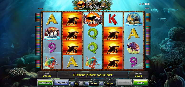 video slot free online orca online