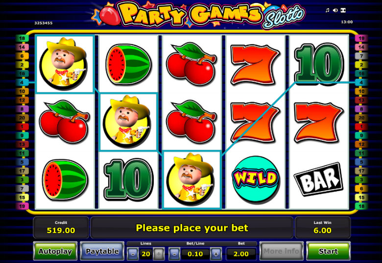 Party Games Slotto - Online Slot