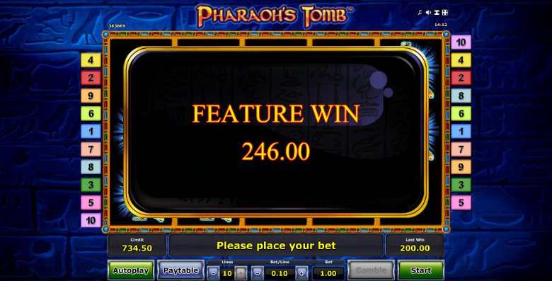 Pharaoh's Tomb - Online Slot