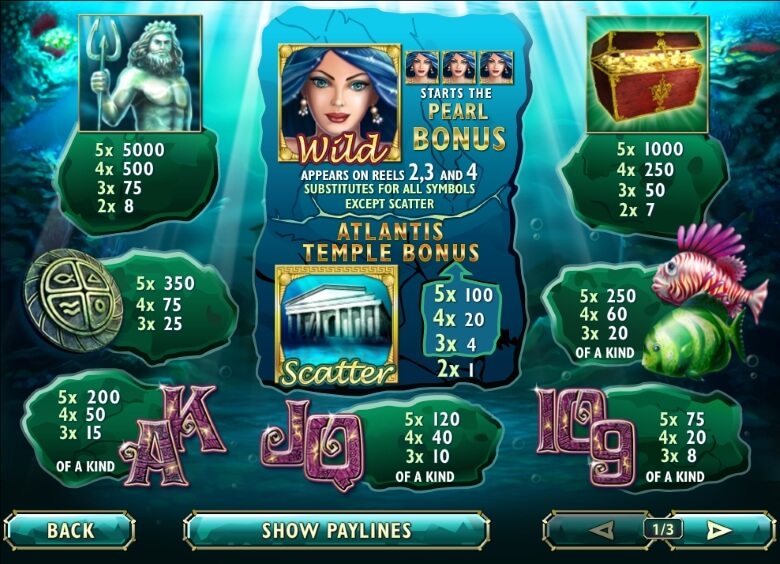 Atlantis Queen online slot
