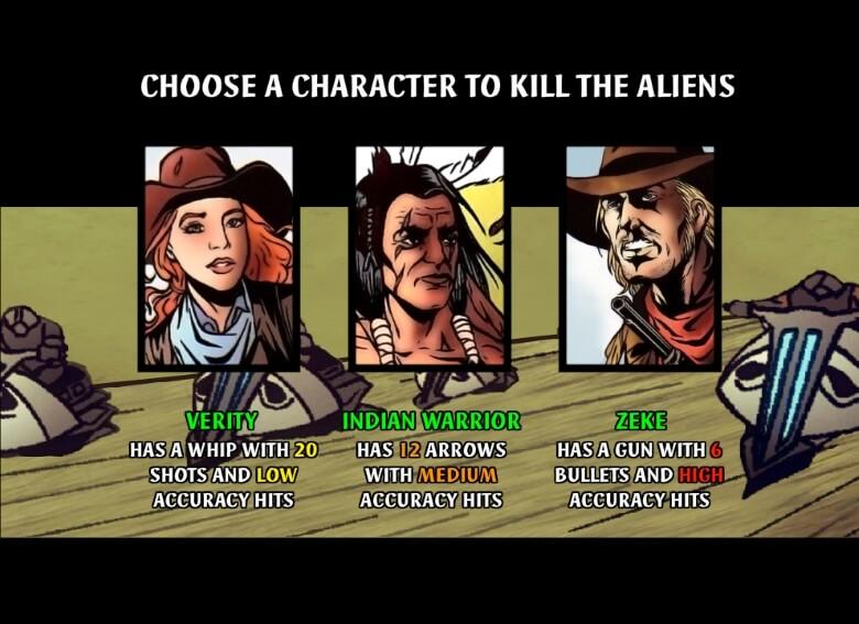 Cowboys & Aliens online slot