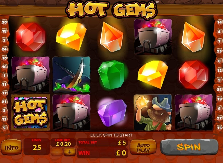 Hot Gems Video Slot
