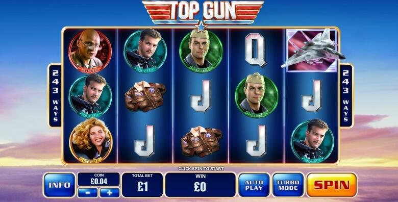 Top Gun by Playtech