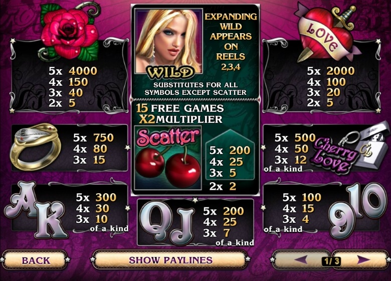 Cherry Love Online Slot