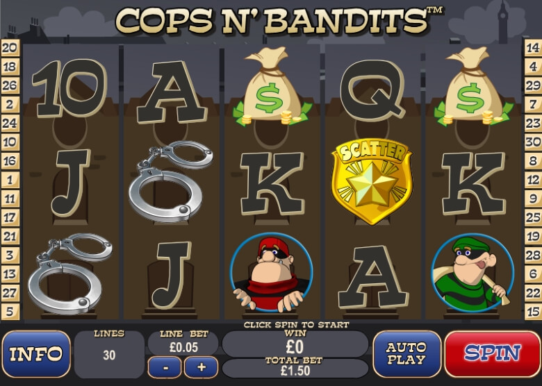 Cops 'n' Bandits by Playtech