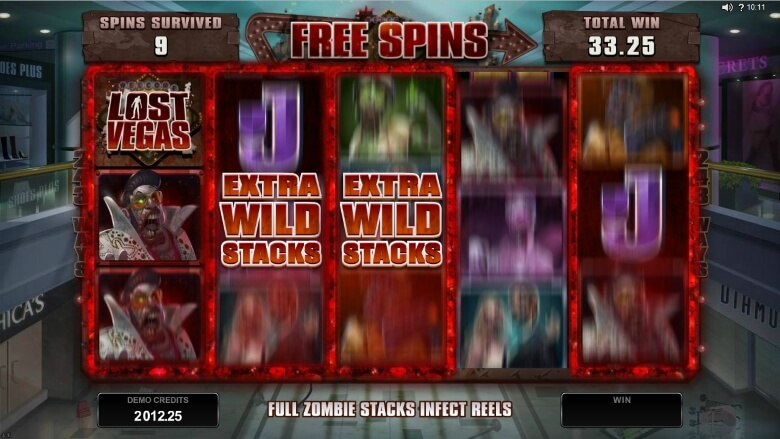 Lost Vegas video slot