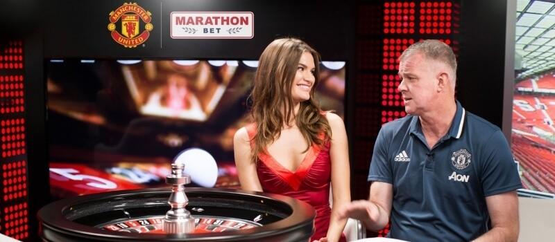 Marathonbet and Manchester United Launch Online Live Casino Image